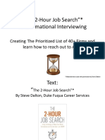 Two Hour Job Search