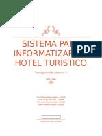 Proyecto de Informatizacion de Un Hotel Turistico