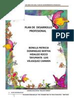 Plan de Desarrollo Profesional 1