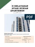 Studi Kelayakan Investasi Hunian Apartemen