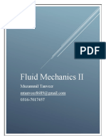 Fluid Mechanics II Muzammil Tanveer