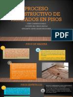 Proceso Constructivo de Acabados en Pisos