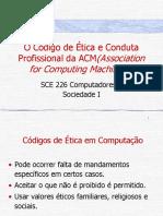 Slide - O Código de Ética e Conduta Profissional da ACM - Association for Computing Machinery.pdf