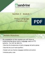 S03M01 Policy Language
