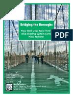 New York Communities for Change Citi Bike Report