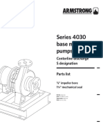 Amstrong 4030 Part List