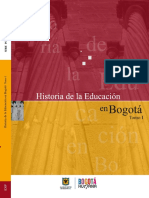 Historia de la Educación en Bogotá Tomo I.pdf