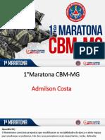 Admilso Costa 1 Maratona CBMMG Historia