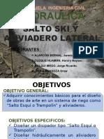 Salto Ski Aliviaderos Lateral