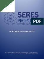 001.Portafolio de Servicios Seres Con Propósito
