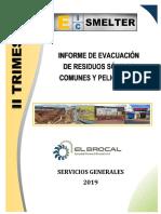 Informe de Evacuacion de Rrss 2do Trimestre - 2019