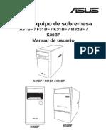 Asus s9950 a31bf f31bf k31bf m32bf k30bf Manual