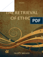 The Retrieval of Ethics