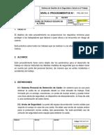 PRC-SST-019 Procedimiento Seguro de Trabajo en Alturas