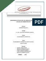 Act. N.05 Investigación Formativa PLANEAMIENTO OPERATIVO