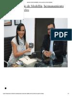 Aprueba Concejo de Medellín, hermanamiento con Puerto Morelos