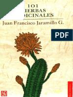 101 plantas medicinales con indice