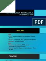 1. Historia Clinica Neumologica Interrogatorio