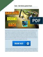 Brawl Badland Hack Astuce