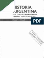 Historia Argentina en El Contexto Latinoamericano y Mundial (1850 HASTA NUESTROS DIAS) - Ed. Santillana