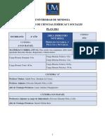 programa de Derecho Notarial y Práctica Notarial universidad de mendoza -San Rafael- 2018