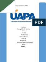 Tarea 4 de Evaluacion de Los Aprendizajes