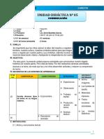 UNIDAD DIDACTICA N° 05- JULIO - REPROGRAMADO