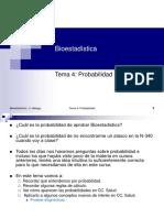 Bioestadistica. Tema 4