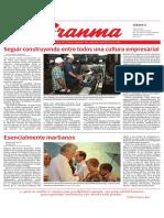 Diario Granma. 6 de julio de 2019.