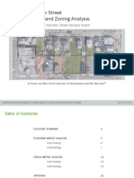 Hamilton Street fiscal and economic analysis