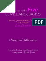 2010 07 30 Five Love Languages