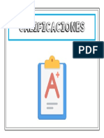 12 CALIFICACIONES