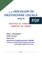 Curriculum Dezvoltare Locala (XI)