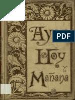 Antonio Flores_Ayer, Hoy y Mañana_1863