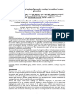 Eurocorr 2014 _ Study of Protective Coatings for Outdoor Bronzes by Means of in Situ Electrochemical Techniques