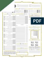 Exalted Charactersheet Redesign