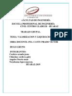 VALORIZACION Y LIQUIDACION- costos..pdf