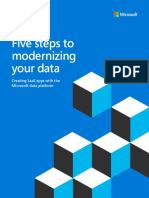 eBook ISV Five Steps to Modernizing Your Data