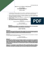 Reglamento Devida Silvestre (Condensado)