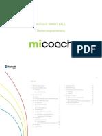 Micoach SMART BALL Bedienungsanleitung