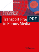 Transport Processes in Porous Media