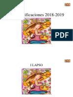 Cuaderno de Planificacion Para Especial 2018-2019 Editable