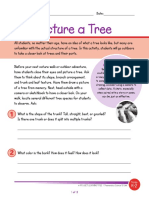 picture a tree activity
