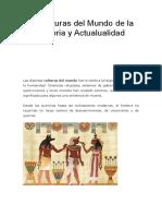 10 Culturas Del Mundo de La Historia y Actualualidad