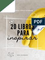 20 Libros Para Inspirar