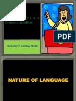 Nature of Language