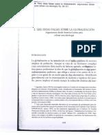Vilas, Carlos - Seis Ideas Falsas Sobre La Globalización