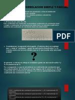 Coeficiente de Correlacion Simple y Parcial