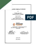 176 Riverside Ave. Traffic Impact Study