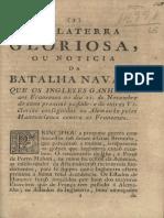 Inglaterra Gloriosa, Ou Noticia Da Batalha Naval, Que Os Inglezes Ganharão Aos Franceze